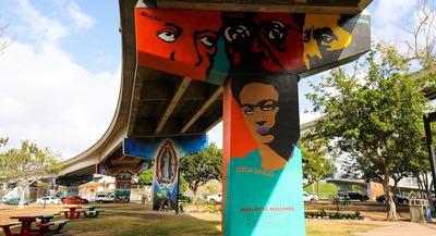 Chicano Park in Barrio Logan - Where Colorful Culture Meets Cutting Edge Art