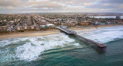 Pacific Beach - Central Coastal San Diego - City Life meets Beach Town Vibes