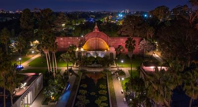 Balboa Park's Botanical Building - Autumn is awesome in San Diego's urban cultural park