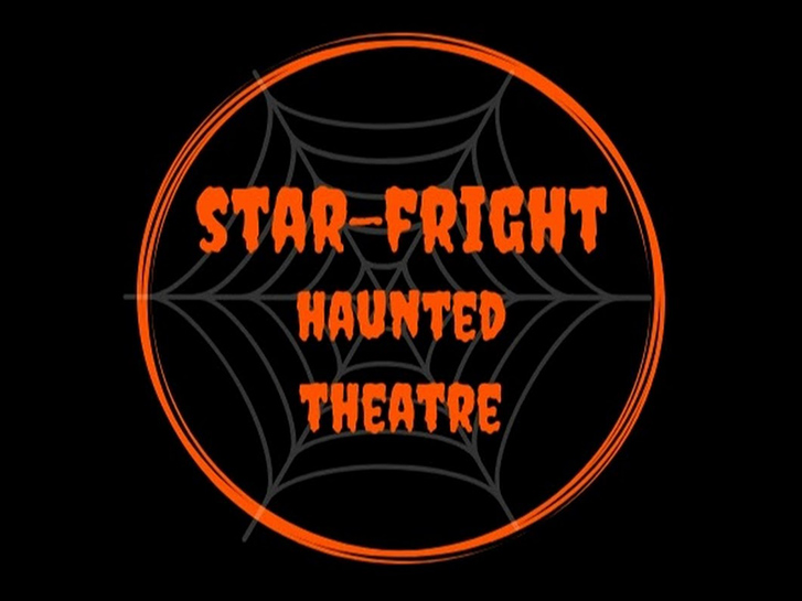 Star-Fright Haunted Theatre in front of Starlight Bowl in Balboa Park