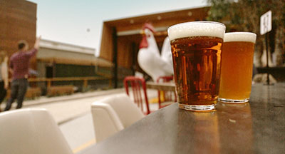 San Diego CA Craft Beer & Bocce Ball at the Crack Shack in San Diego CA