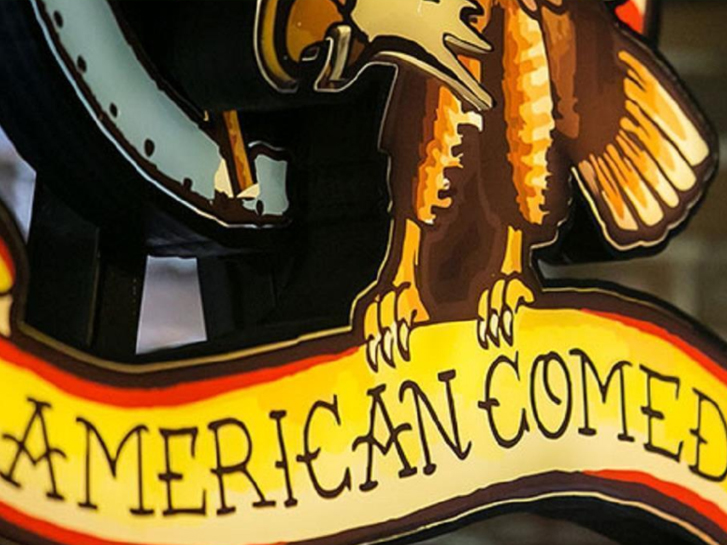 American Comedy Signage