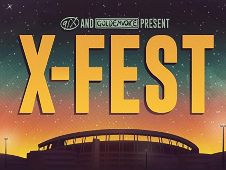 Live music at XFEST in San Diego CA