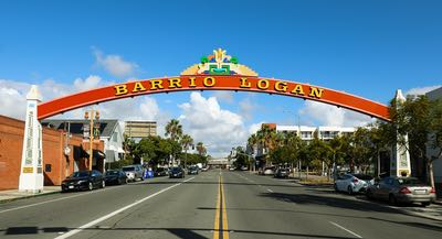 Barrio Logan Neighborhood Sign
