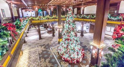Christmas Tree at the Hotel del Coronado - Hotel Holiday Happenings and Events in San Diego