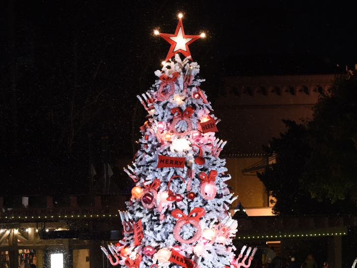 Christmas Tree at The Old Globe