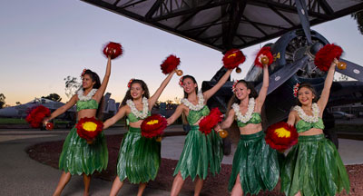 San Diego's Miramar Polynesian Dancers