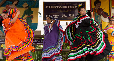 Dancers in San Diego's Old Town