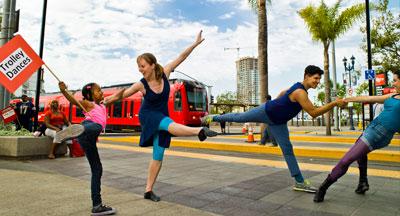 South-East San Diego Trolley Dancers
