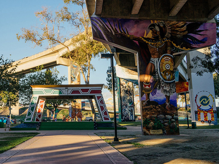 Chicano Park Artwork in San Diego, CA