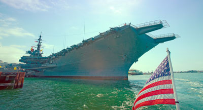 Memorial Day in San Diego - USS Midway Museum