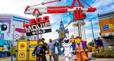 LEGO Movie World at LEGOLAND California Resort | Spring Attraction Action in San Diego