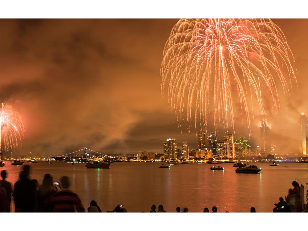84562fecc San Diego 4th of July Fireworks and Celebrations