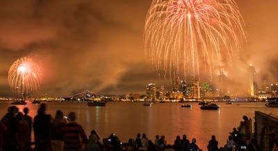 Fourth of July's Big Bay Boom in San Diego
