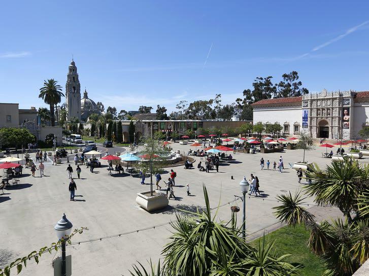 Plaza de Panama in Balboa Park