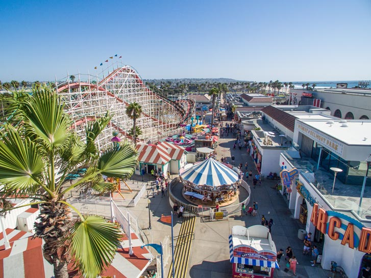 Mission Beach's Belmont Park