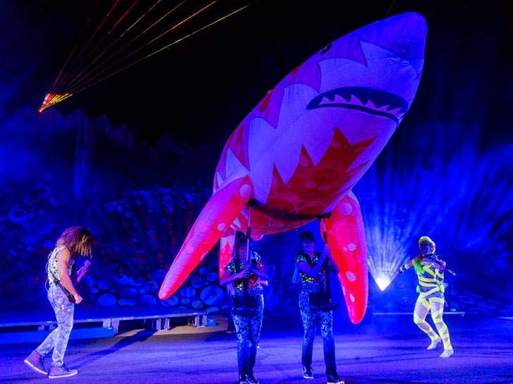 SeaWorld's Electric Ocean