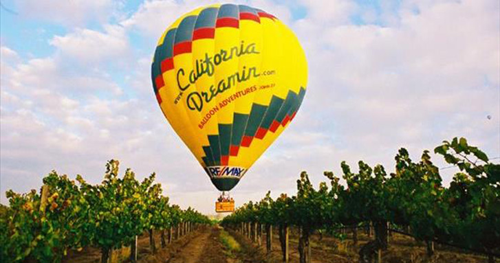 A Balloon Adventure by California Dreamin