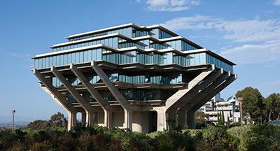 UC San Diego's Geisel Library