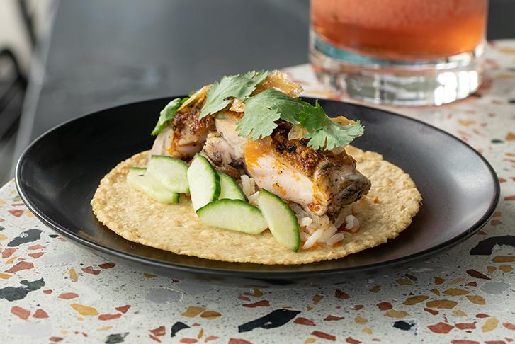 Fish Taco at Lola 55