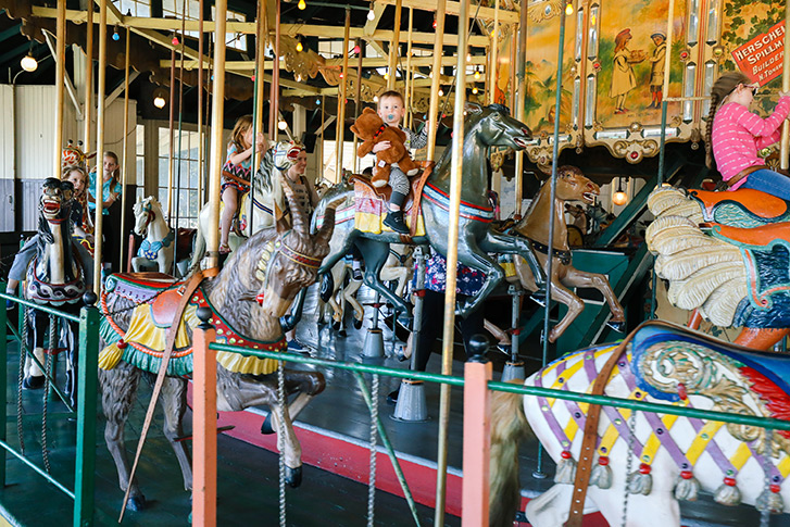 The 1910 Balboa Park Carousel