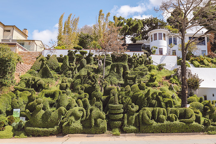 Edna Harper's Topiary Garden San Diego