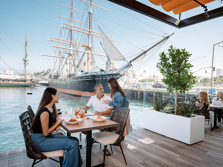 Dine with Waterfront Views