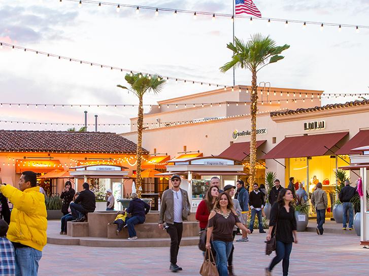 Enjoy Outdoor Shopping