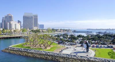 Waterfront Aerial Embarcadero