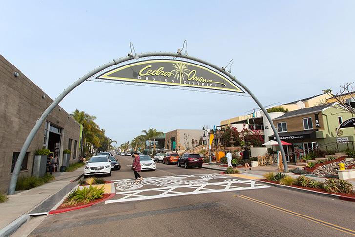 Solana Beach: Cedros Avenue Design District