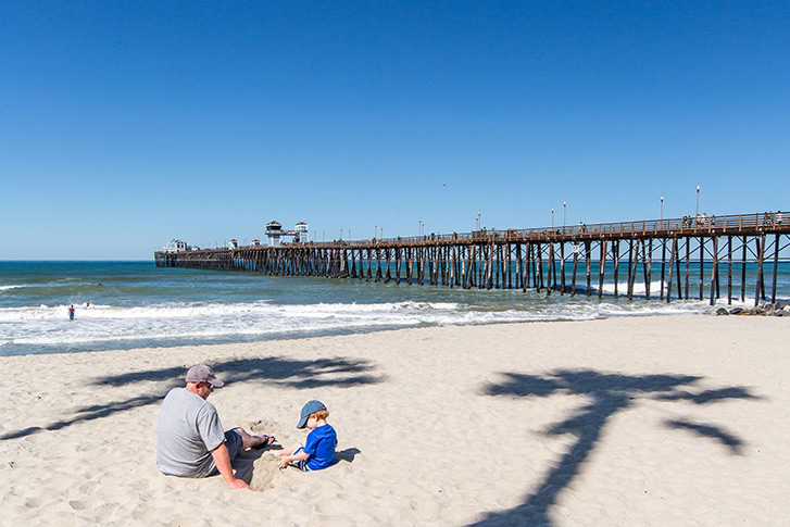 North Oceanside: The Pier