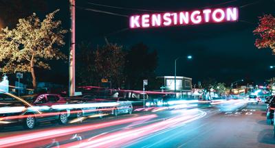 Kensington sign San Diego