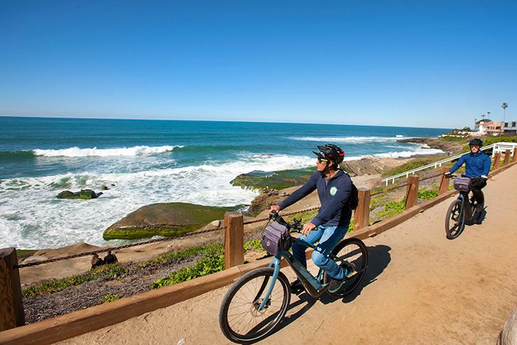Electric Bike Tour of La Jolla and Mt. Soledad