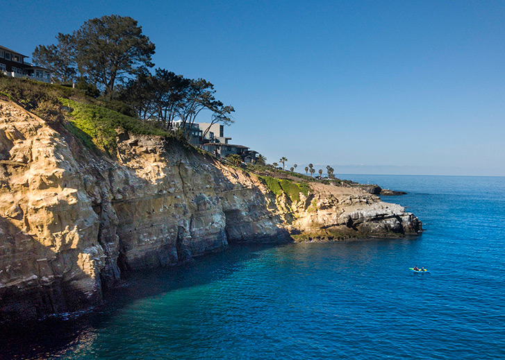 Explore the Sea Caves