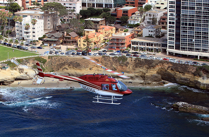 Experience San Diego from a Helicopter