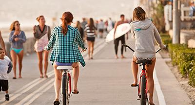 Mission Beach Boardwalk San Diego