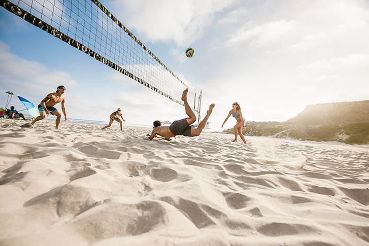 Play Beach Volleyball San Diego