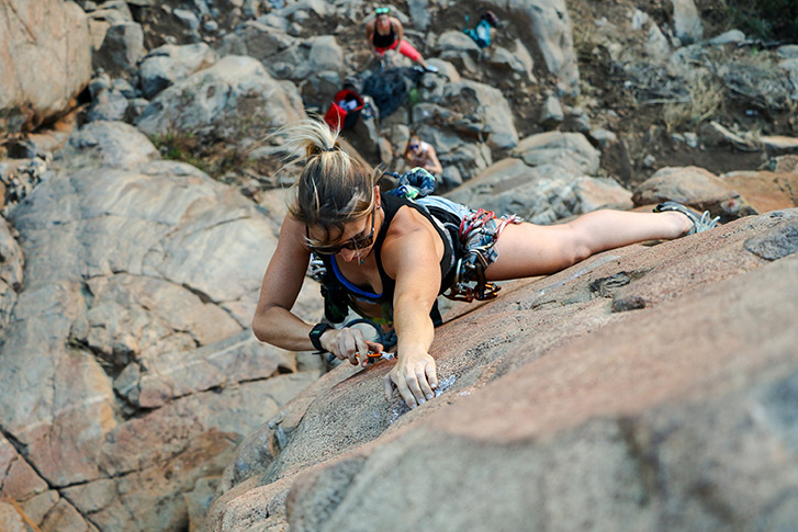 Rock Climbing at Mission Trails Regional Park