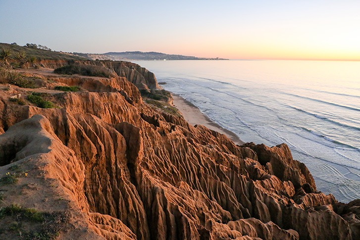 Hike Torrey Pines high above the Pacific