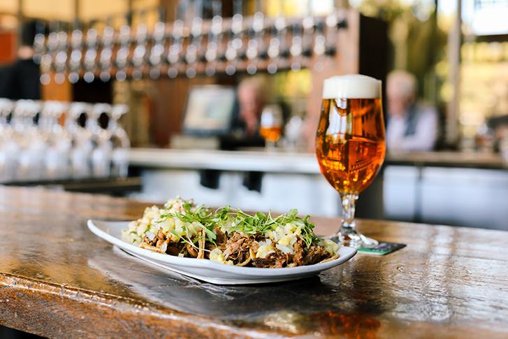 Beers & Elevated Fare Stone Brewing Bistro & World Gardens