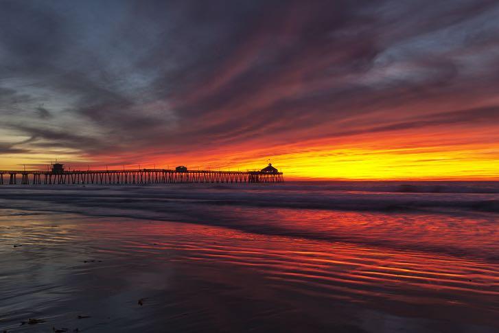 Imperial Beach Pier in San Diego's South Bay