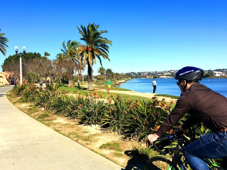 Biking in Point Loma