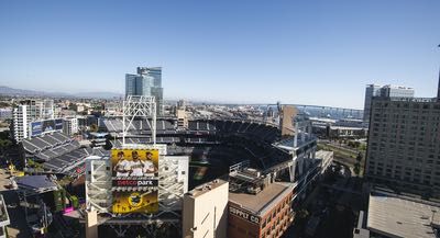 Petco Park and San Diego Bay