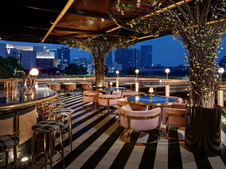 Born and Rasied rooftop restaurant and bar in Little Italy