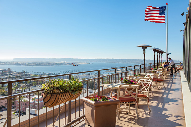 7 Spectacular Rooftop Bars Rooftop Dining In San Diego