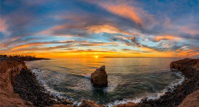 Sunset Cliffs San Diego Sunset