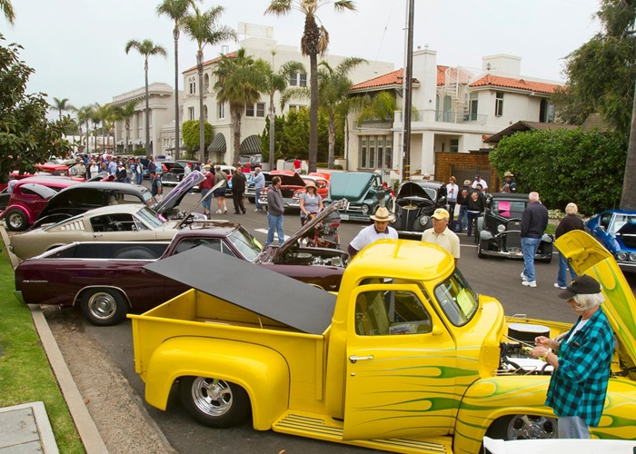 Annual MotorCars On MainStreet Car Show Coronado CA - San diego lowrider car show 2018