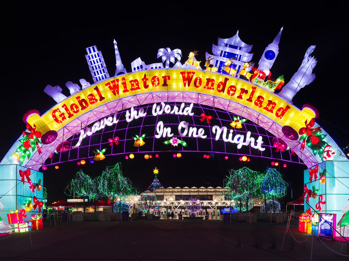 Global Winter Wonderland | Chinese Lantern Festival | San Diego