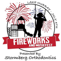 Lake Murray Fireworks logo