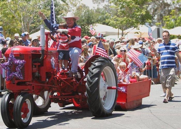 Rancho Santa Fe's Annual 4th of July Parade & Picnic